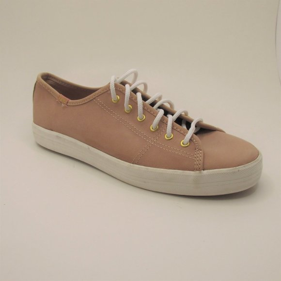 Keds Ortholite Pink Leather Sneakers